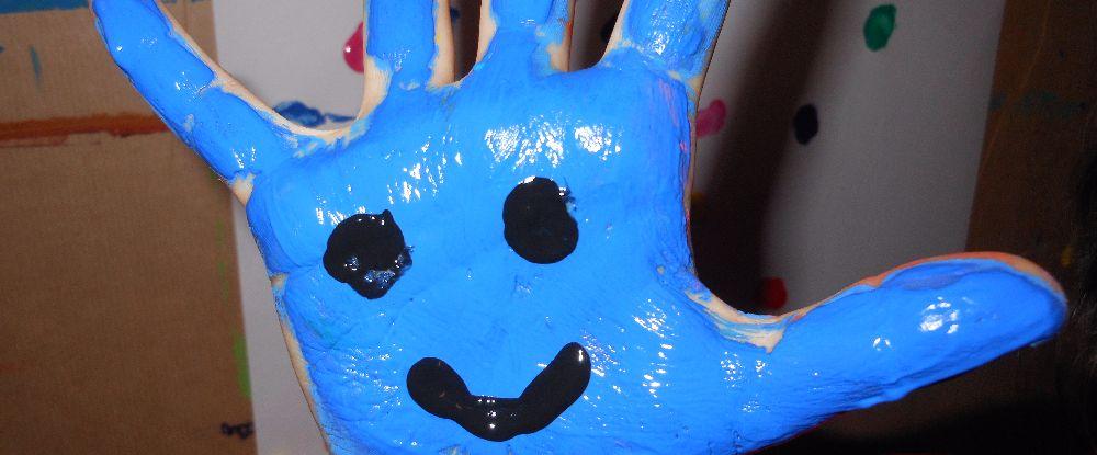 Rentrée colorée : Peinture avec les mains